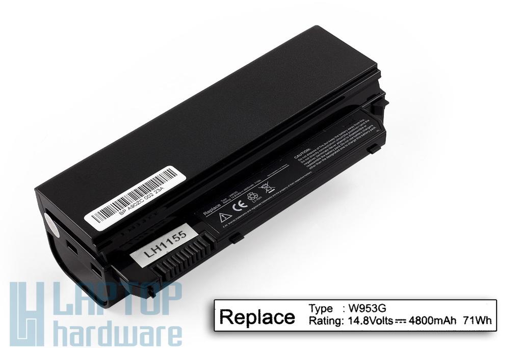 Dell Inspiron Mini 910, Mini 9 helyettesítő új 8 cellás netbook akkumulátor