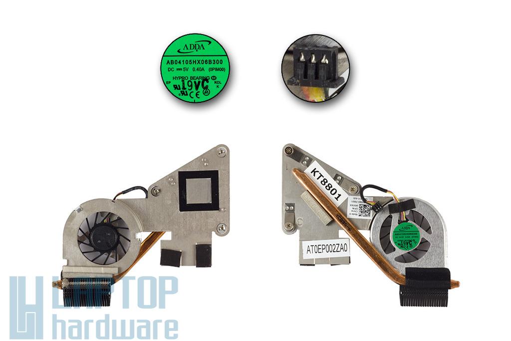 Dell Inspiron Mini Duo 1090 új komplett laptop hűtőegység (RX56X)