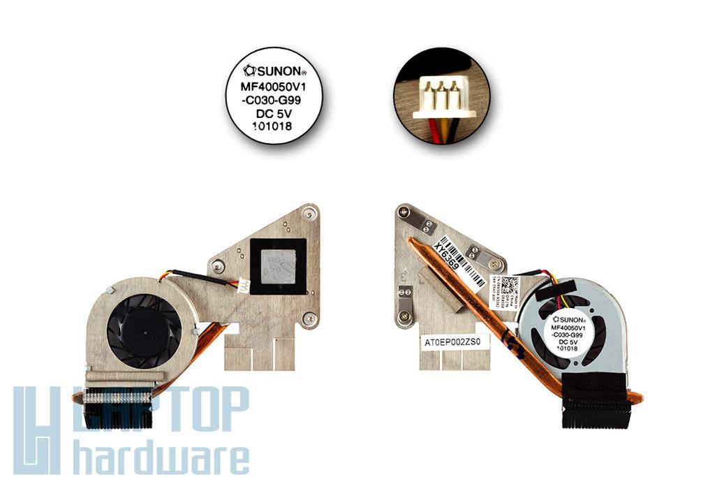 Dell Inspiron Mini Duo 1090 használt újszerű komplett laptop hűtőegység (0RX56X)