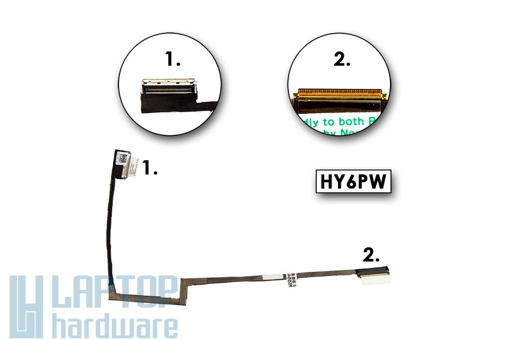 Dell Inspiron N301Z, M301Z gyári új laptop LCD kijelző kábel (13'') (0HY6PW, HY6PW)