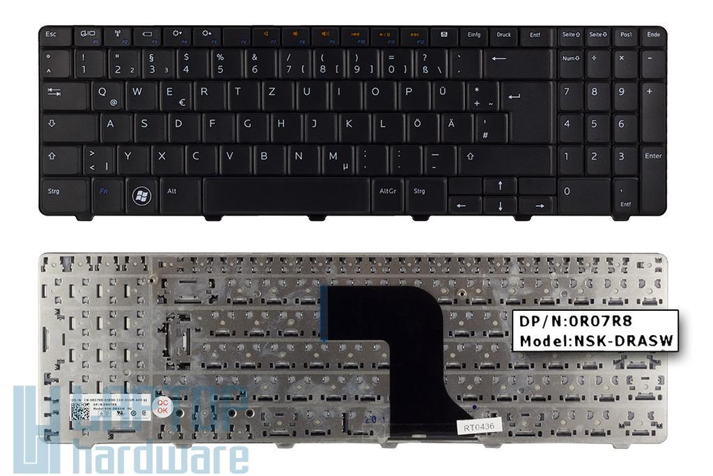 Dell Inspiron N5010, M5010 gyári új német laptop billentyűzet (DPN 0R07R8)