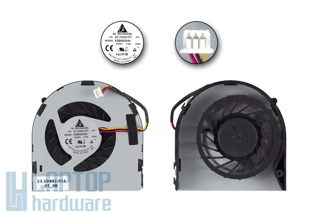 Dell Inspiron N5040, Vostro 1540, 2520 gyári új laptop hűtő ventilátor, 23.10492.011