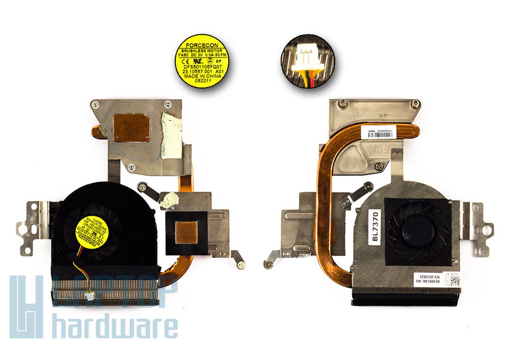 Dell Inspiron N5110 használt laptop hűtőegység (0J1VPC)