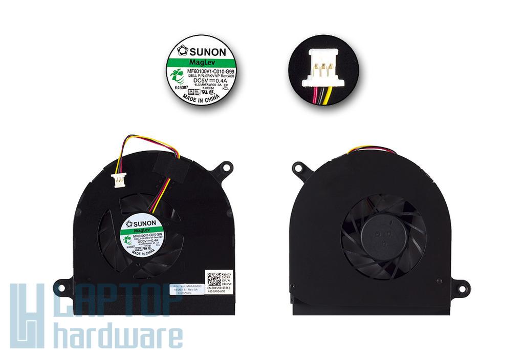Dell Inspiron N7010 gyári új laptop hűtő ventilátor, 0RKVVP