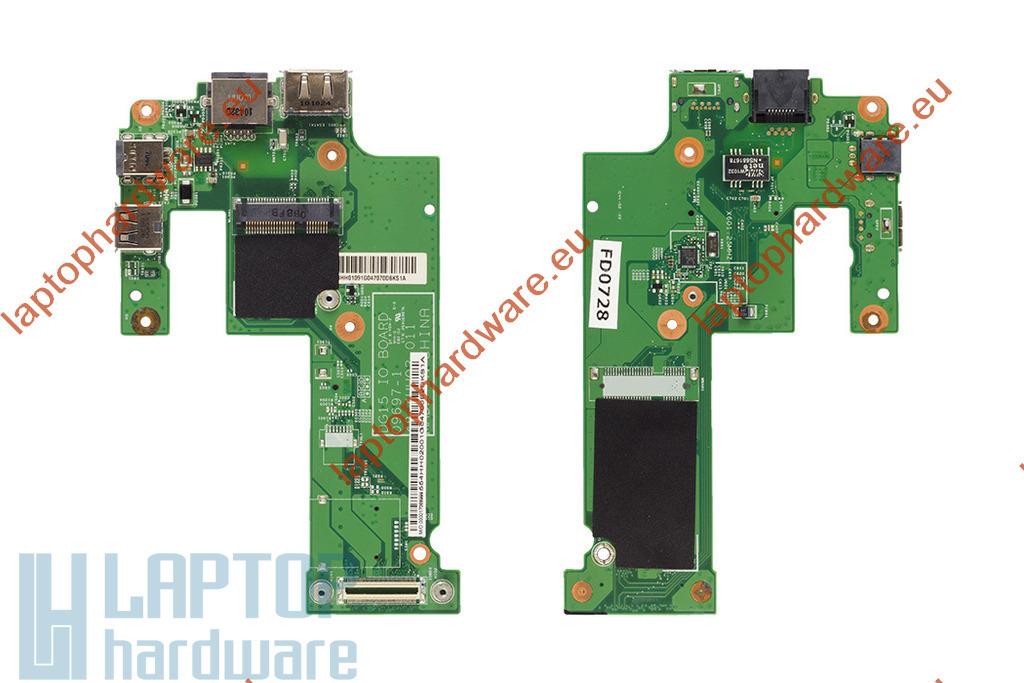 Dell Inspiron 15R, N5010, M5010 gyári új laptop USB/LAN/ESATA/DC panel (48.4HH02.011)