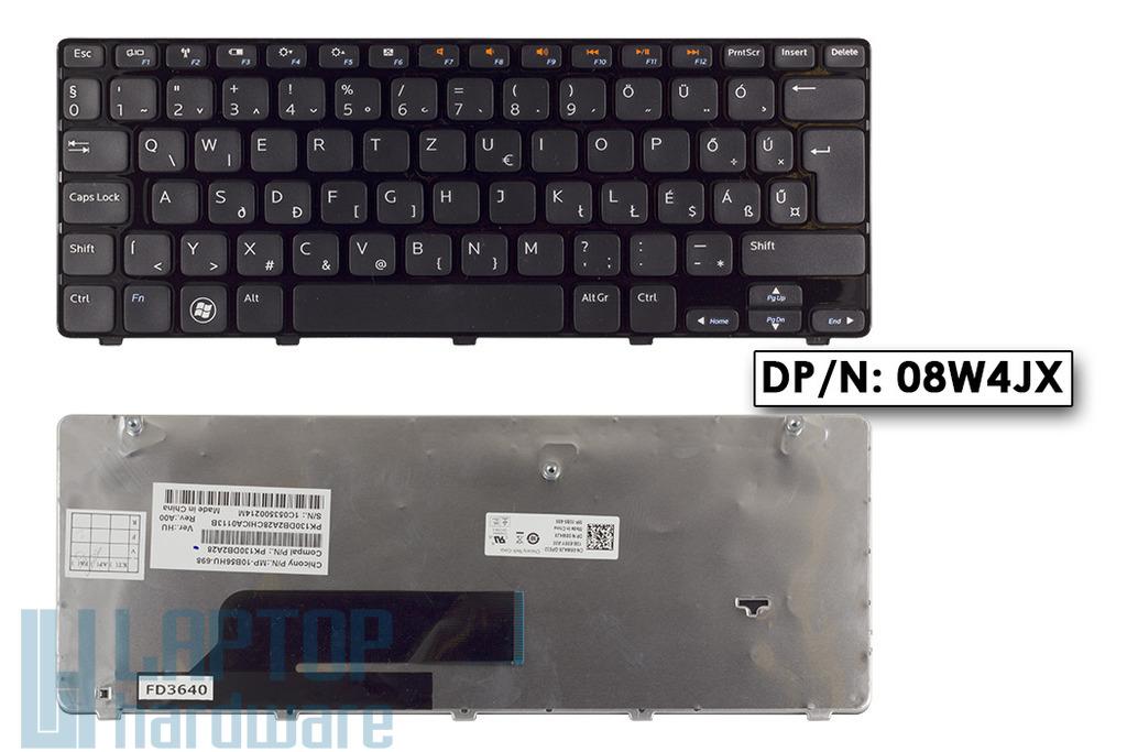 Dell Inspiron Mini 11, 1120, 1121 gyári új magyar laptop billentyűzet, 08W4JX