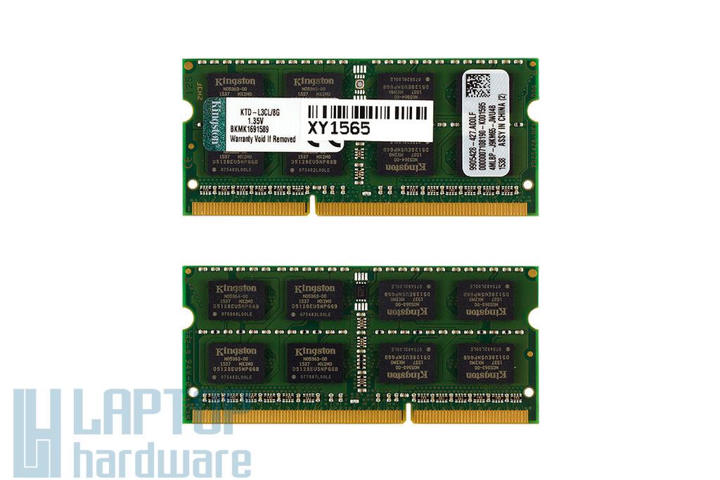 Kingston 8GB DDR3L 1600MHz gyári új memória Dell laptopokhoz