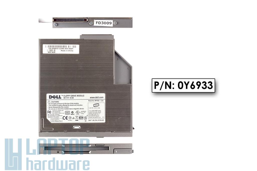 Dell laptophoz használt Floppy meghajtó, 0Y6933