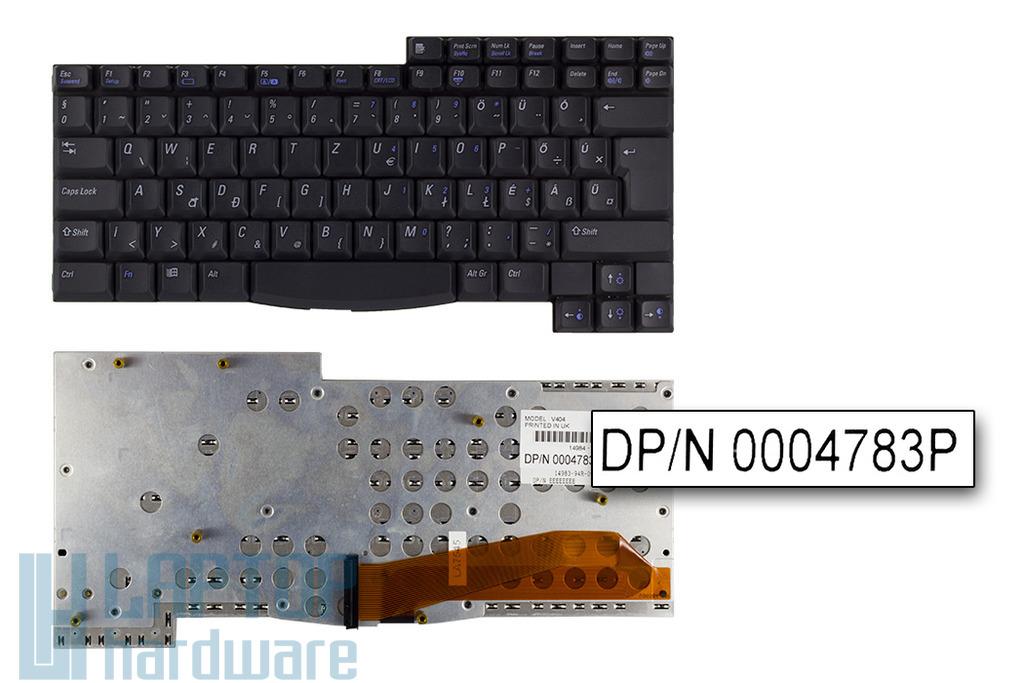 Dell Latitude CPiC, CPt, CPx gyári új magyar laptop billentyűzet (0004783P)