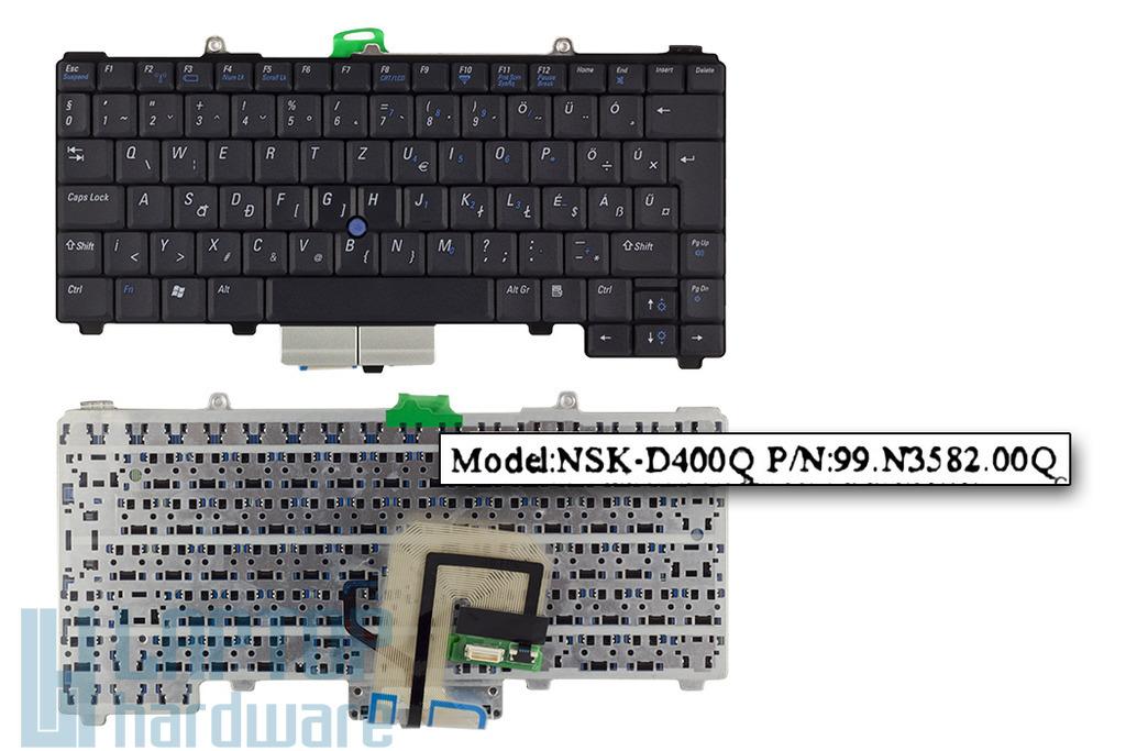 Dell Latitude D400 gyári új magyar laptop billentyűzet (0W473)
