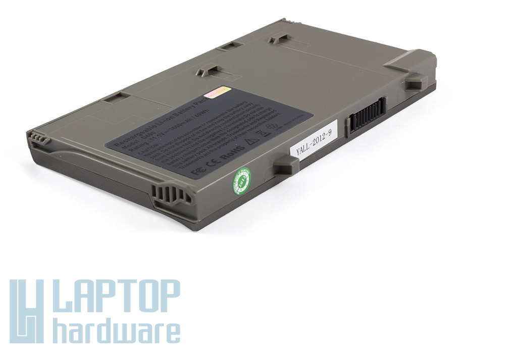 Dell Latitude D400 helyettesítő új 6 cellás laptop akku/akkumulátor (9T119, 9T255, 7T093)