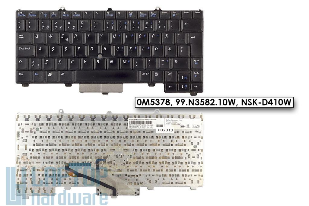 Dell Latitude D410 használt német laptop billentyűzet (0M5378)