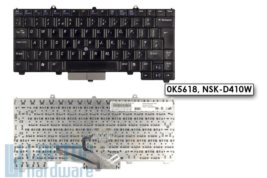 Dell Latitude D410 használt UK angol laptop billentyűzet (0K5618)