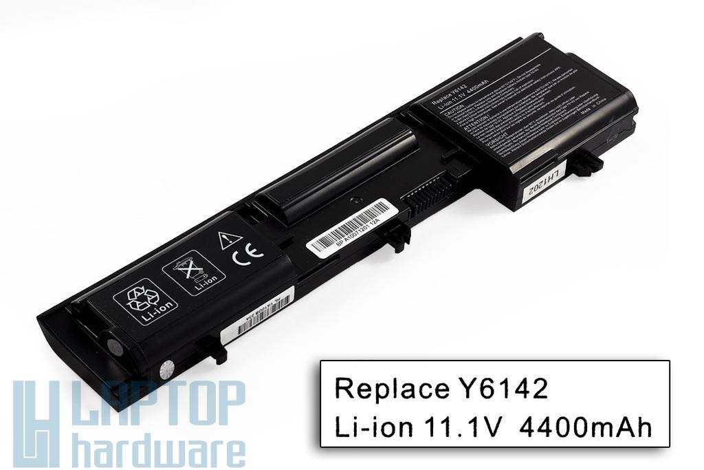 Dell Latitude D410 helyettesítő új 6 cellás laptop akku/akkumulátor (Y6142)