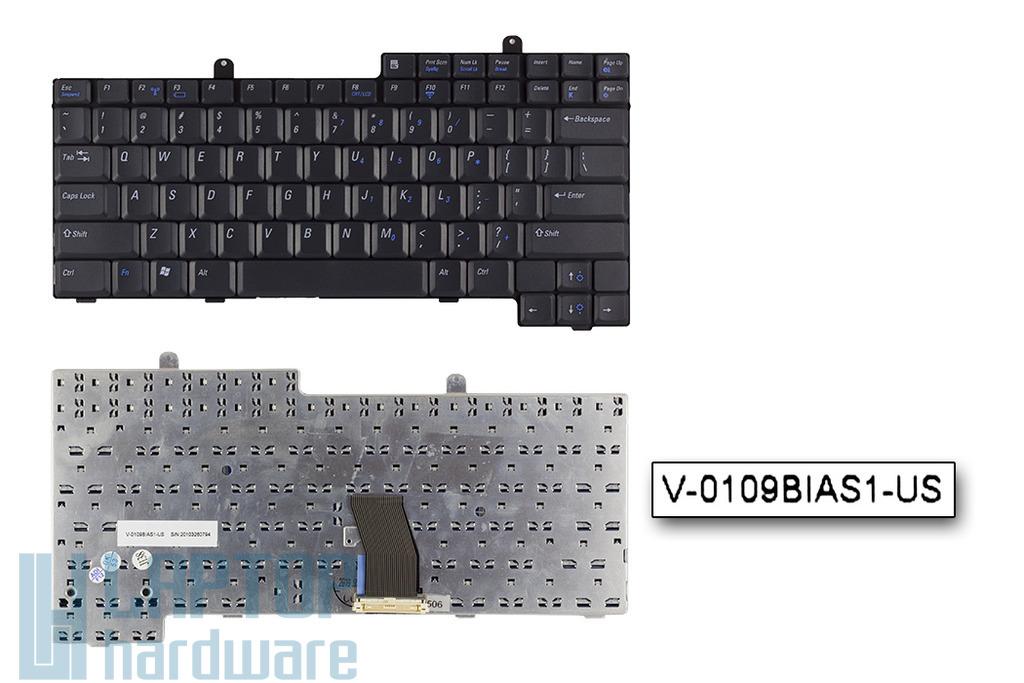 Dell Latitude D500, D600 gyári új US angol laptop billentyűzet (01M722)