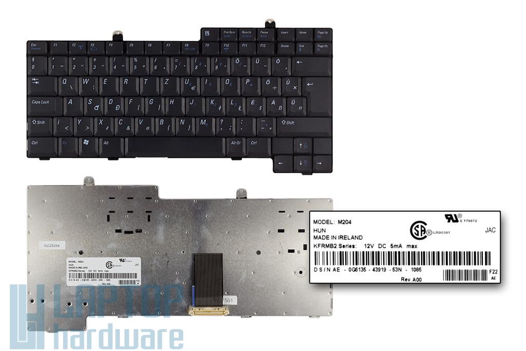 Dell Latitude D500, D600 gyári új magyar laptop billentyűzet (0G6135)
