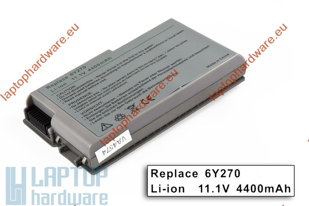 Dell Latitude D500, D600 használt 75%-os helyettesítő 6 cellás laptop akku/akkumulátor (6Y270)