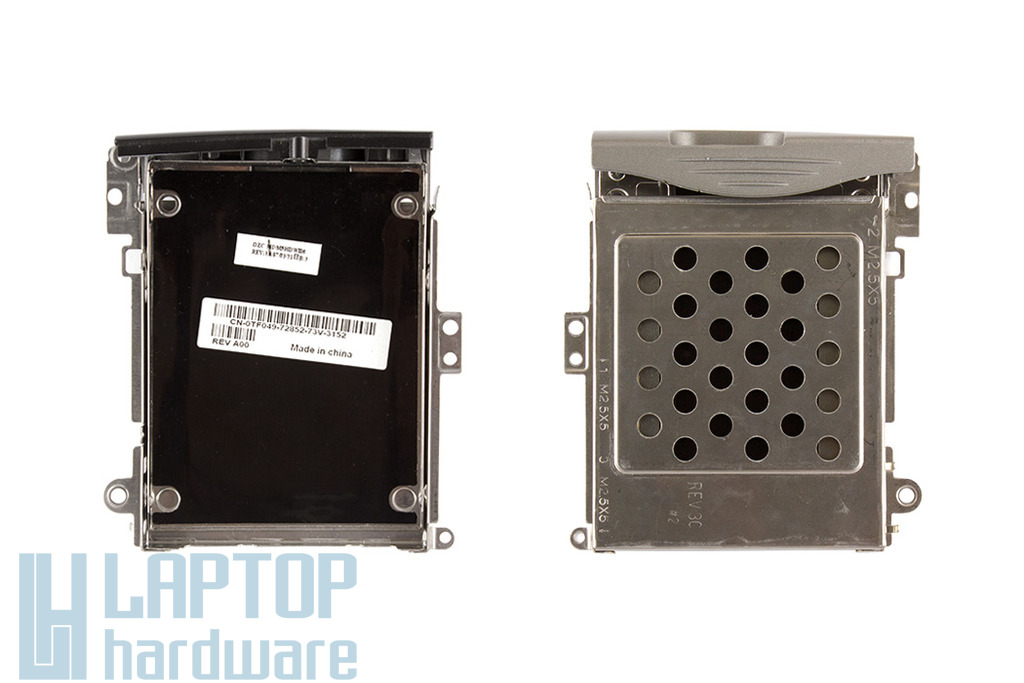 Dell Latitude D510, D520, D530 laptophoz használt HDD keret és fedél (0TF049)