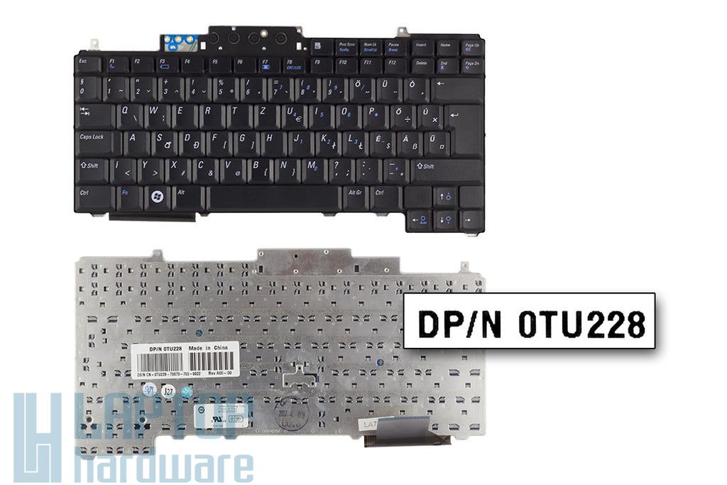Dell Latitude D531, D531N gyári új magyar laptop billentyűzet (0TU228)
