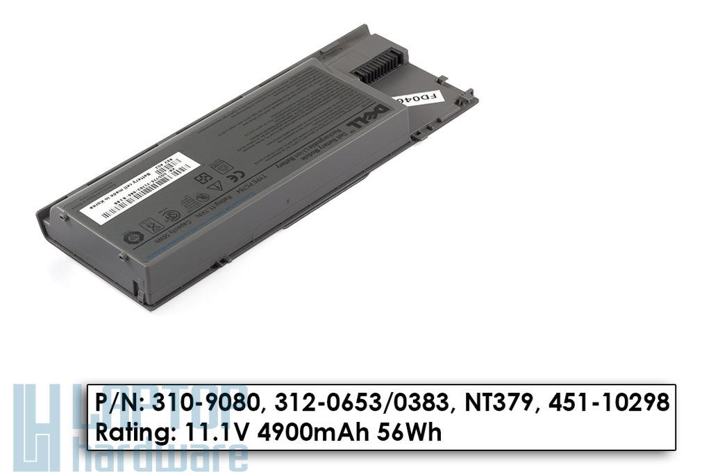 Dell Latitude D620, 630 20%-os használt laptop akku/akkumulátor  PC764