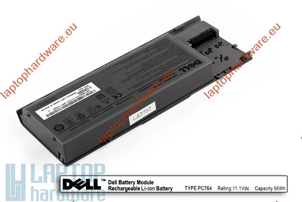Dell Latitude D620, D630, D631 használt 70%-os, 6 cellás laptop akku/akkumulátor (PC764)