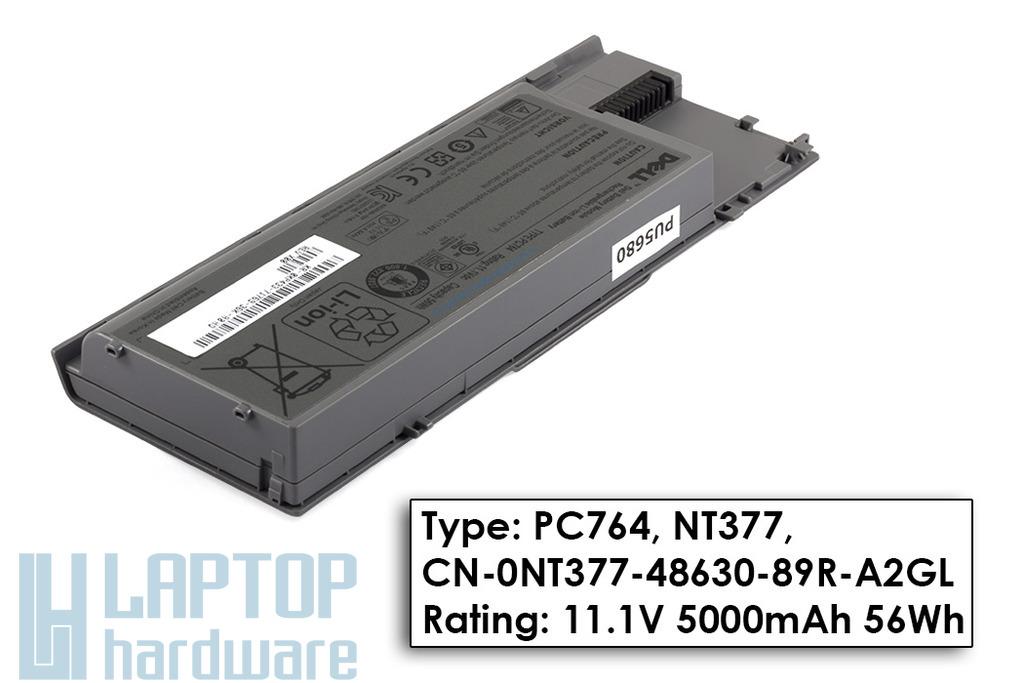 Dell Latitude D620, D630 Gyári Új laptop akku/akkumulátor