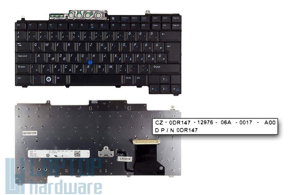 Dell Latitude D620, D630 gyári új magyar laptop billentyűzet (0DR147)