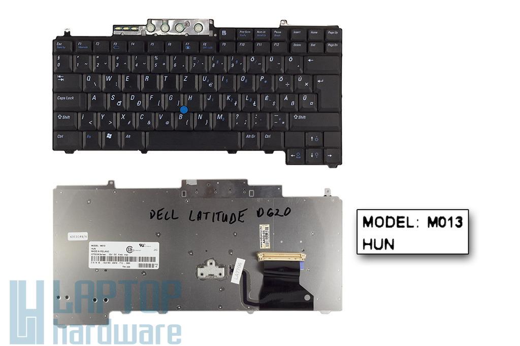 Dell Latitude D620, D630 használt magyar laptop billentyűzet (0UC153)