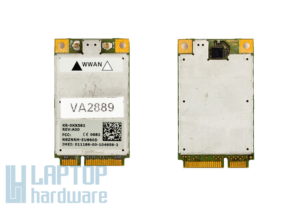 Dell Latitude D620, D630 laptophoz használt HSDPA modem (0KX582)