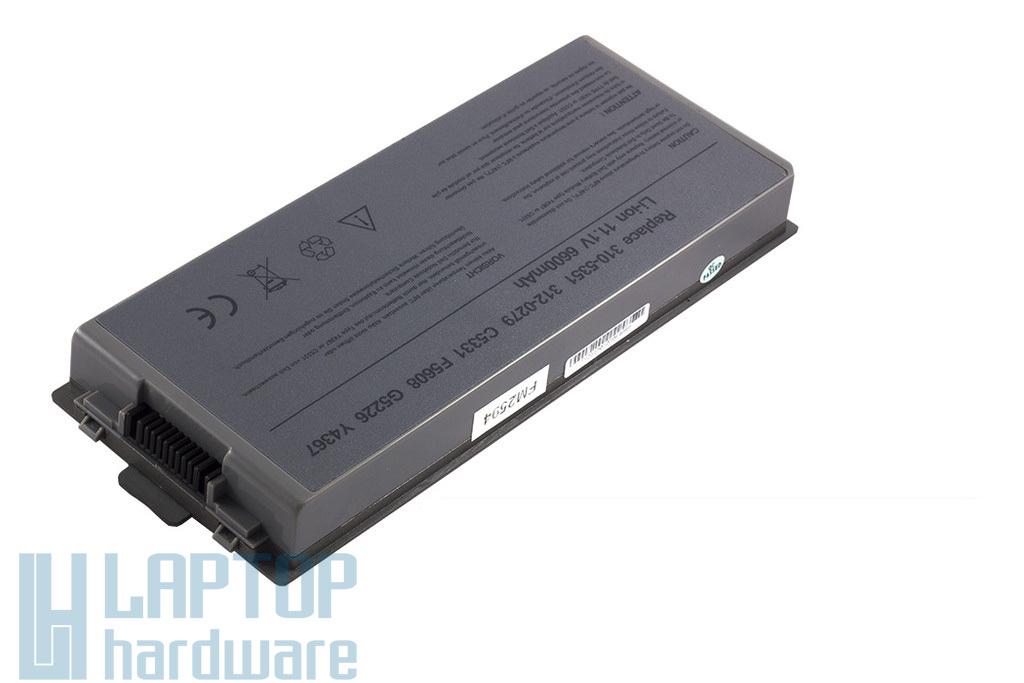 Dell Latitude D810, D840, Precision M70 helyettesítő új 9 cellás laptop akku/akkumulátor  G5226, Y4367