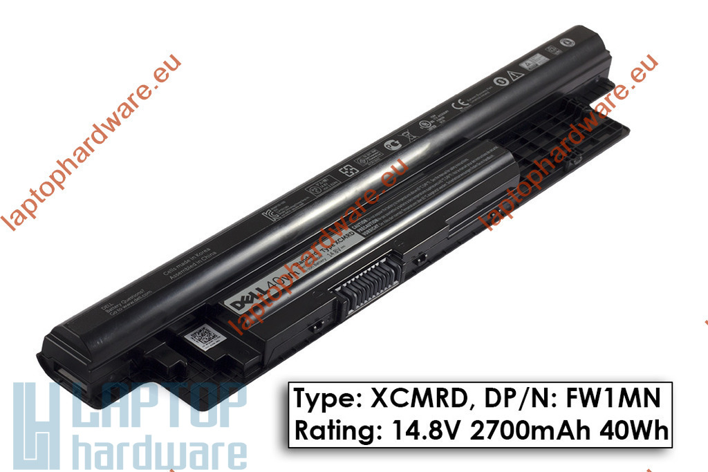 Dell Latitude 3440, 3540 használt 80%-os 40Wh-s gyári laptop akku/akkumulátor (TYPE XCMRD, FW1MN)