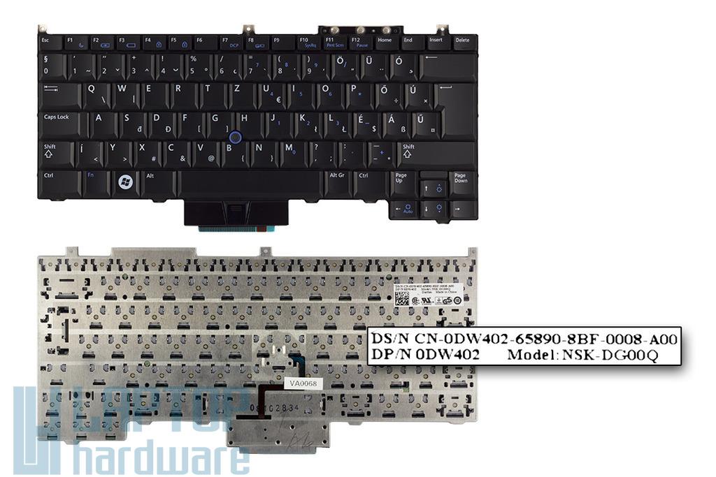 Dell Latitude E4300 gyári új magyar laptop billentyűzet (0DW402)