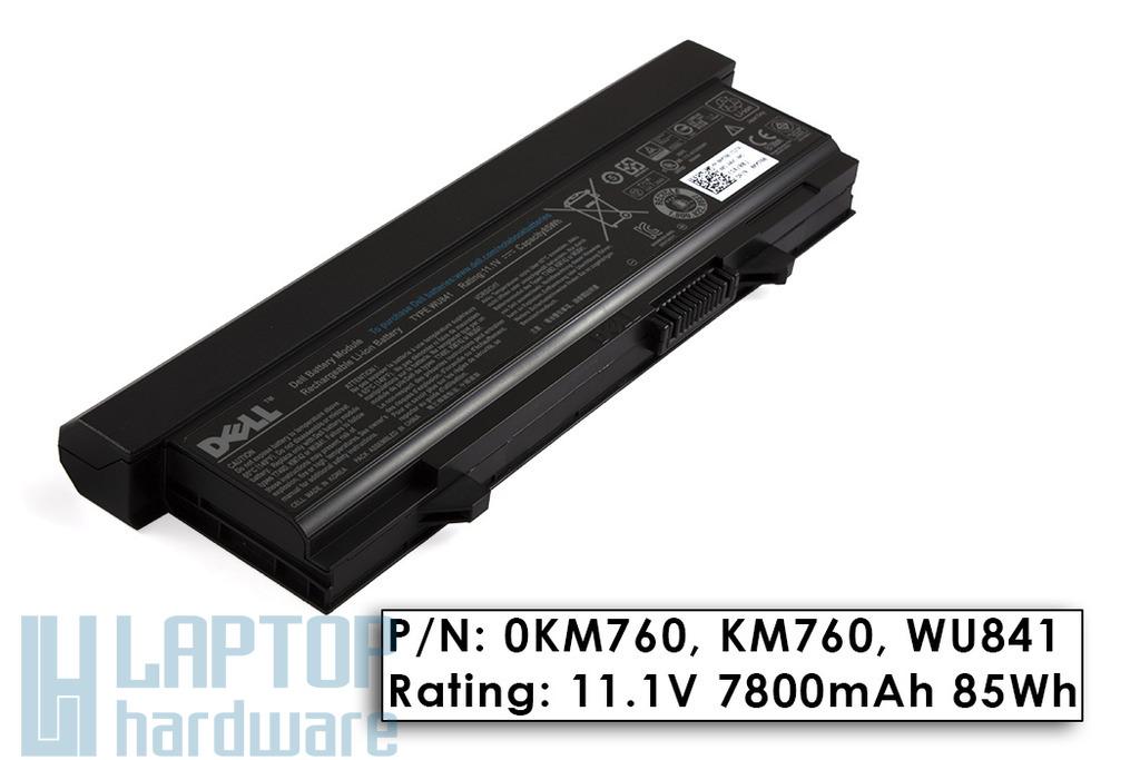Dell Latitude E5400, E5410, E5500 gyári új 9 cellás laptop akku/akkumulátor  KM760