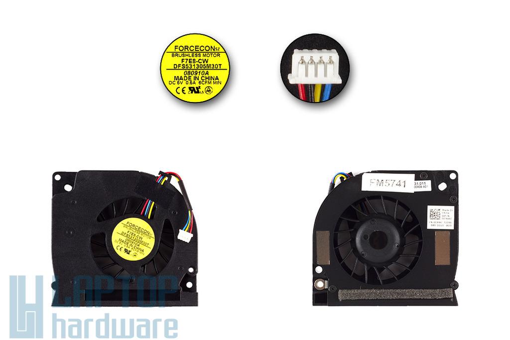 Dell Latitude E5400, E5500 laptop hűtő ventilátor, C946C, DFS531305M30T