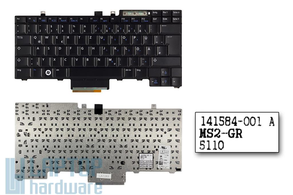 Dell Latitude E5400, E6400, E6410 gyári új német laptop billentyűzet (0MRVHY)