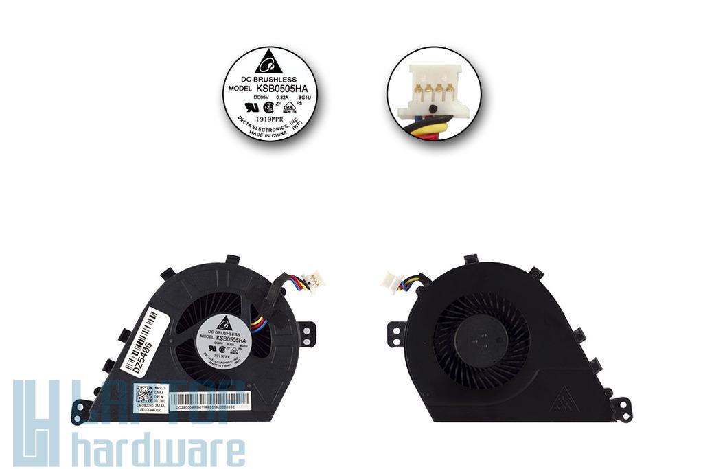 Dell Latitude E5430 gyári új laptop hűtő ventilátor, 082JH0