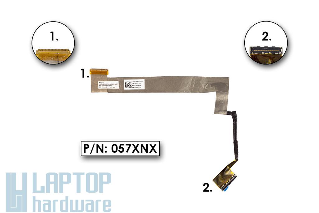 Dell Latitude E5520, E6520 használt LCD kábel (057XNX)