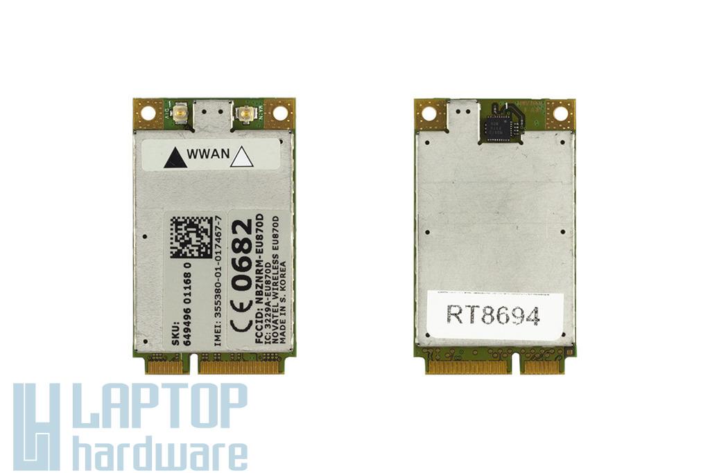 Dell Latitude E5520 laptophoz gyári új HSDPA modem (EU870D)