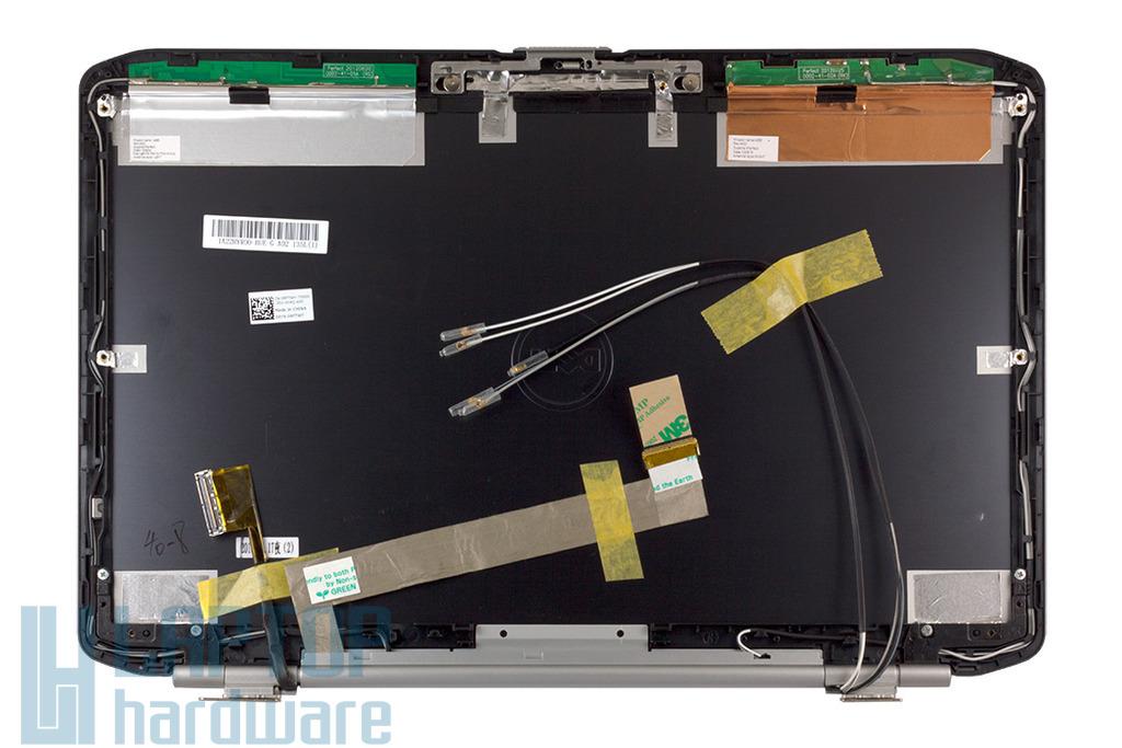 Dell Latitude E5520 laptophoz gyári új LCD kijelző hátlap zsanérokkal (RFTWY)