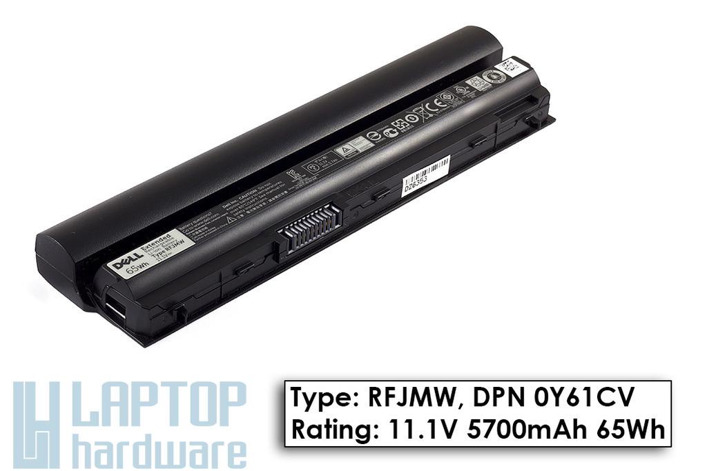 Dell Latitude E6230, E6330 gyári új 6 cellás laptop akku/akkumulátor (TYPE RFJMW, DPN 0Y61CV, KFHT8)