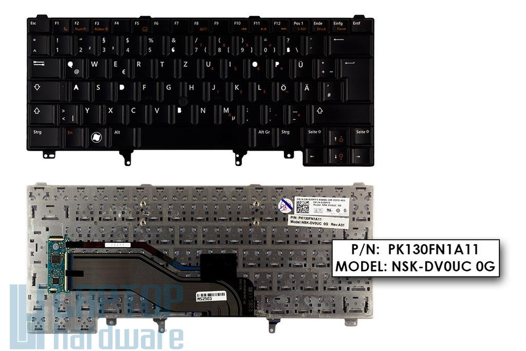 Dell Latitude E6320, E6420, E6430 gyári új német laptop billentyűzet (020P73)