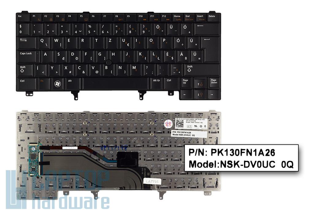 Dell Latitude E6320, E6420, E6430 gyári új magyar laptop billentyűzet (0JTHRR)