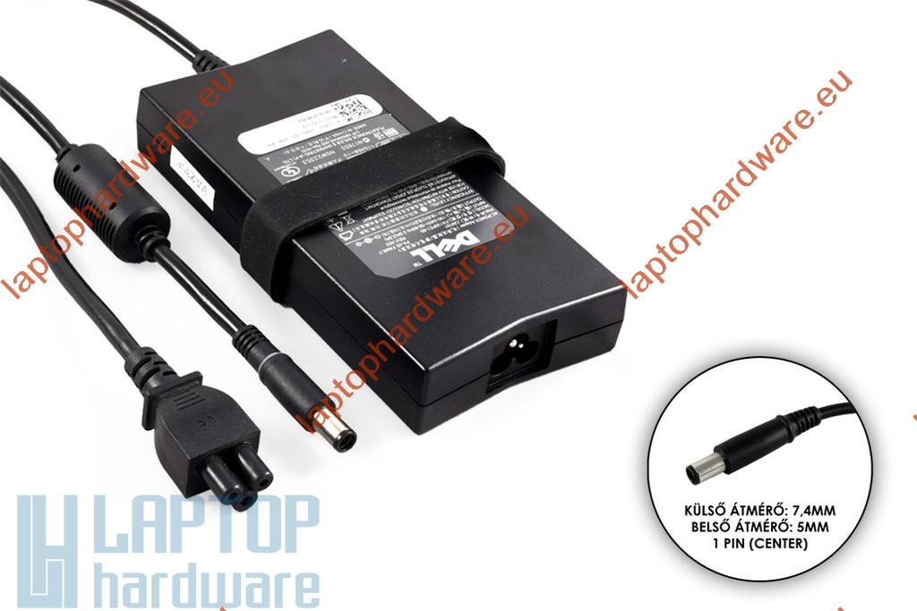 Dell PA-4E 19.5V 6.7A 130W használt gyári laptop töltő (PA-4E, 0JU012, 0WRHKW)