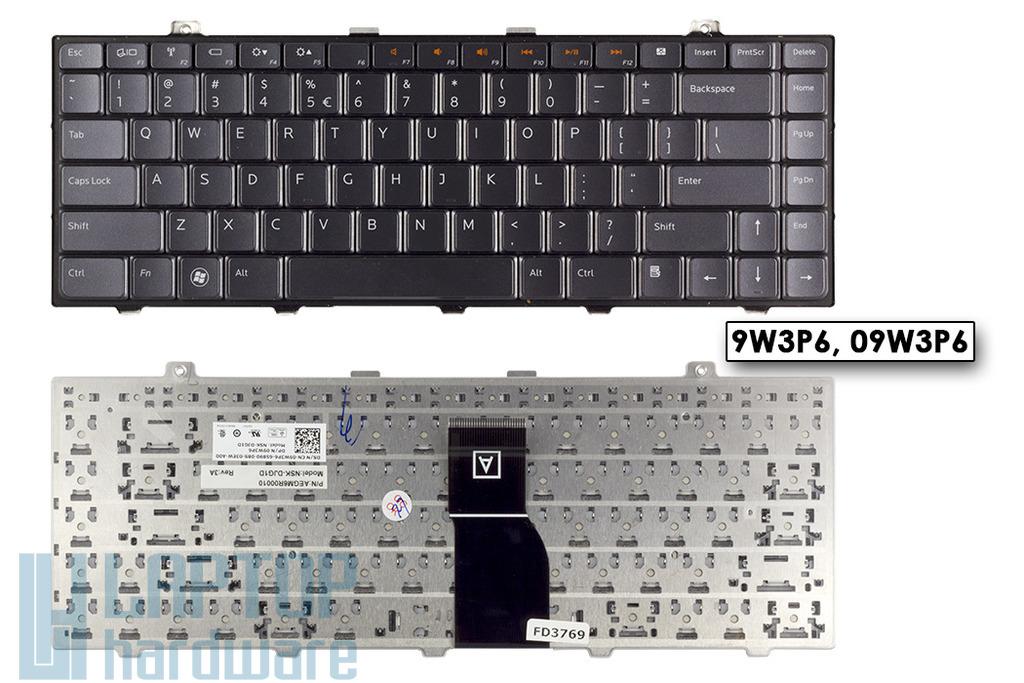 Dell Studio 1450, XPS L401, L501 használt US angol laptop billentyűzet (DPN 9W3P6)