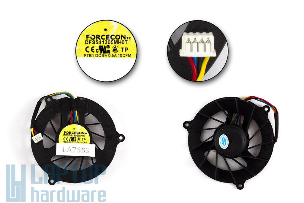 Dell Studio 1535, 1536, 1537 használt laptop hűtő ventilátor (DFS541305MH0T)