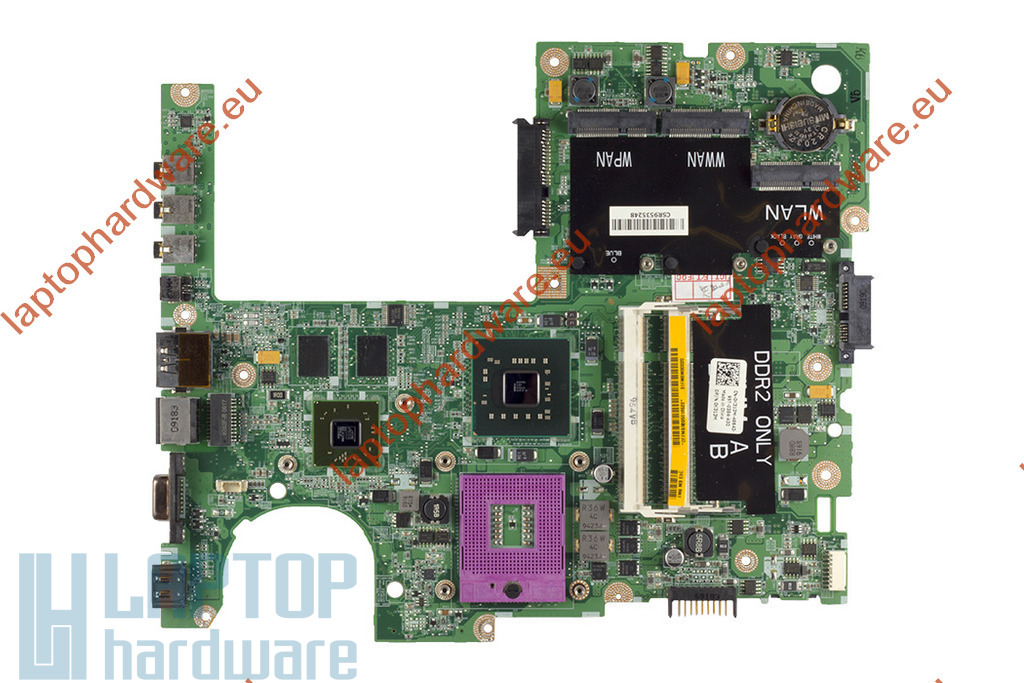 Dell Studio 1555 használt laptop alaplap (ATI Mobility Radeon HD 4570 VGA verzió) (0K313M)