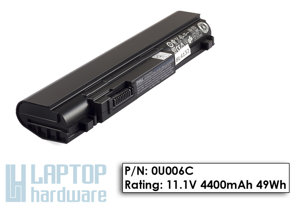 Dell Studio XPS 13, Studio XPS 1340 gyári új 6 cellás laptop akku/akkumulátor (0U006C)