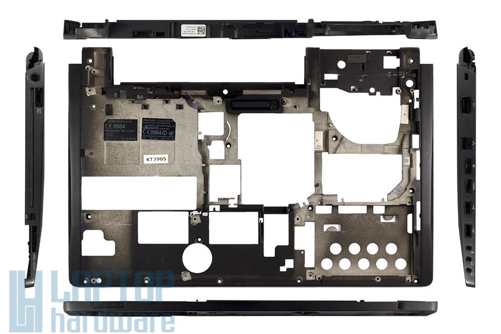 Dell Studio XPS 1645, 1647 laptophoz használt fekete alsó fedél, 03MGD2