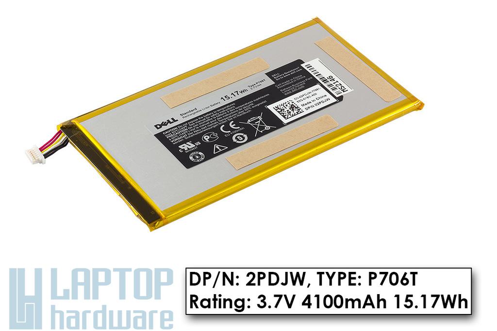 Dell Venue 7 gyári új tablet akku/akkumulátor (2PDJW)
