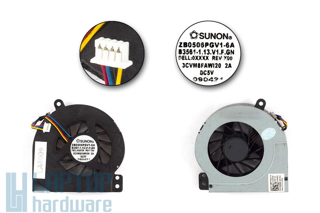 Dell Vostro 1014, 1015 használt laptop hűtő ventilátor (ZB0506PGV1-6A, 0Y34KC)